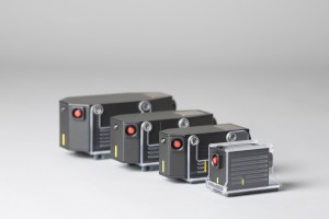 Four standard probes: small, medium, large and extra-large